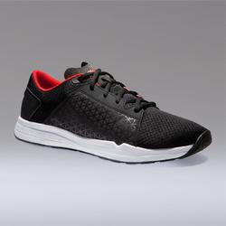 500 Cardio Training Fitness Shoes - Black/Red