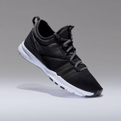 Women's Fitness Shoes 120 Mid - Black