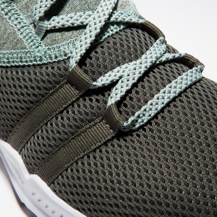 女款中筒有氧健身訓練鞋120-卡其色