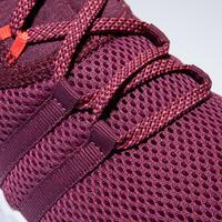 Calzado Fitness Domyos 120 Mid Mujer Burdeos