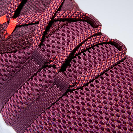 Women's Fitness Shoes 120 Mid - Burgundy