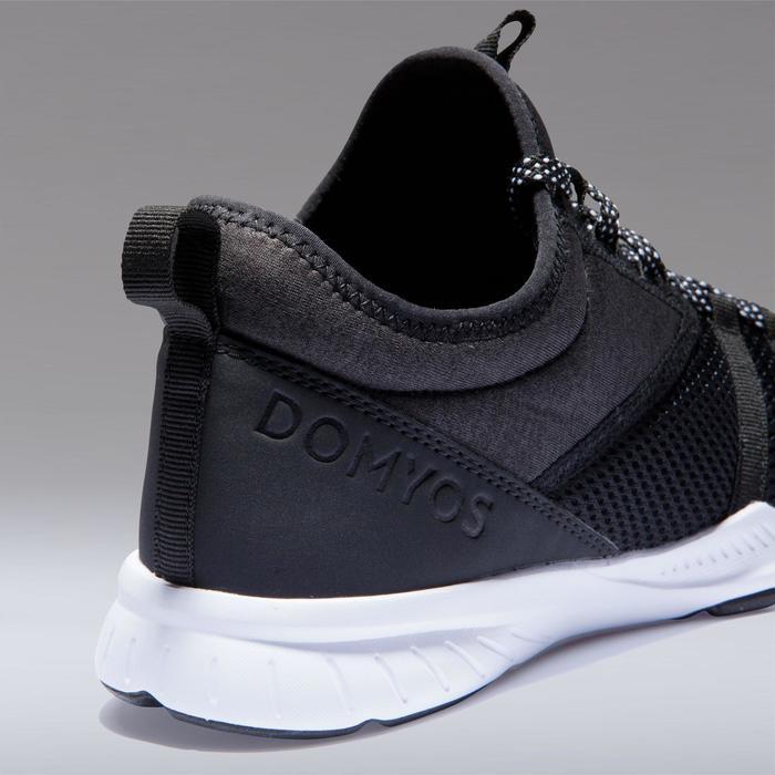 Chaussures fitness cardio-training 120 mid femme noir