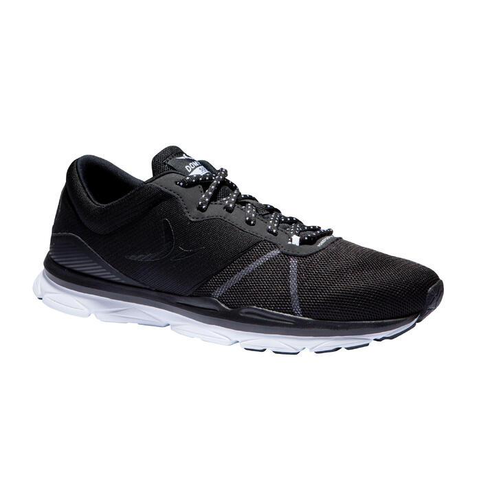 Fitnessschoenen 500 dames zwart