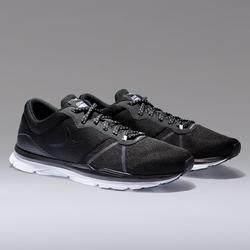 Schoenen voor cardiofitness dames 500 zwart