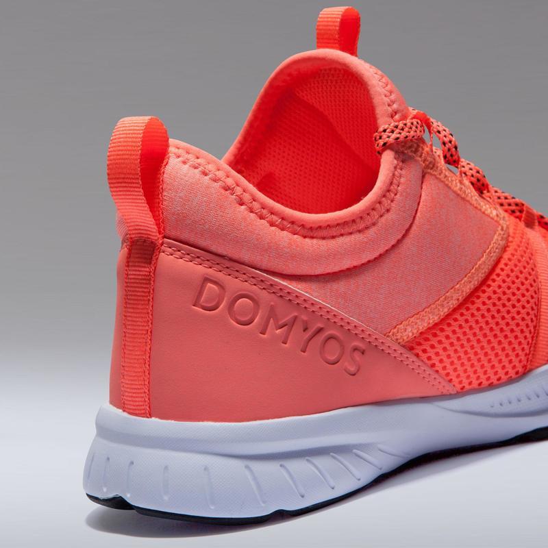 nuovi prezzi più bassi sconto più basso migliore qualità per Scarpe fitness - Scarpe donna cardio fitness 120 MID corallo