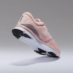 Fitness schoenen cardiotraining 500 voor dames, roze
