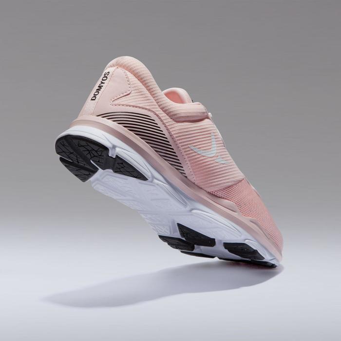 Fitnessschuhe 500 Fitness Cardio Damen rosa
