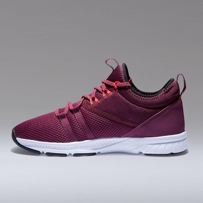 Fitness Shoes 120 Mid - Burgundy