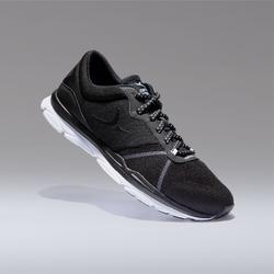 Sportschuhe Fitness Cardio 500 Damen schwarz