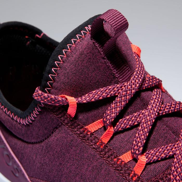 Chaussures fitness cardio-training 120 mid femme bordeaux