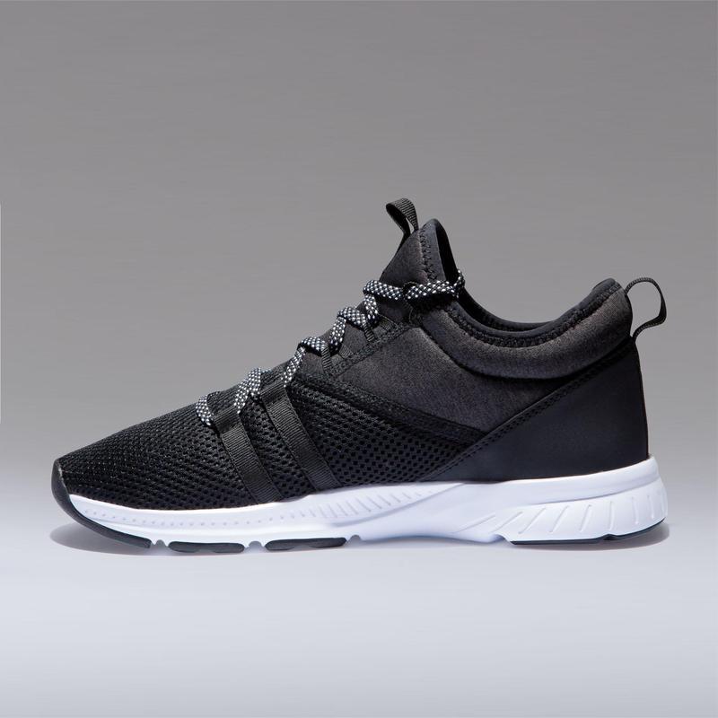 Chaussures de fitness 120 mid femme noir