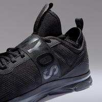 500 Mid Women's Fitness Cardio Training Shoes – Black
