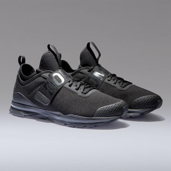 Schoenen voor cardiofitness dames training 500 mid zwart