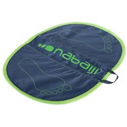 Esterilla Natación Nabaiji Hygiene Feet Azul Verde Aquagym Aquafitness