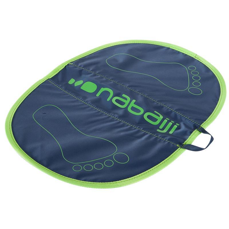 Tappetino poggiapiedi piscina HYGIENE FEET grigio-verde