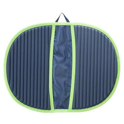 ציוד שחייה - משטח היגייני לכפות הרגליים אפור ירוק