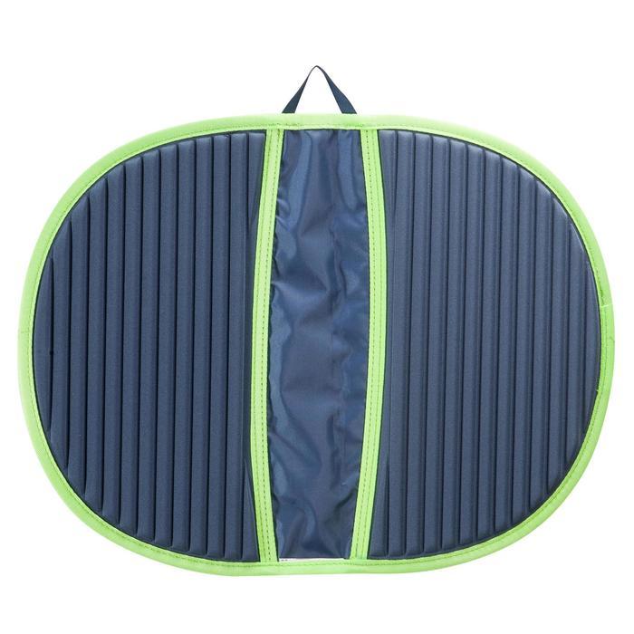 Voetenhanddoek zwemmen Hygiene Feet grijs/groen