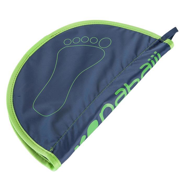 Voetmatje voor zwemmen Hygiene Feet grijs/groen