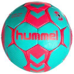 Handbal Hummel dames maat 2 blauw turquoise roze