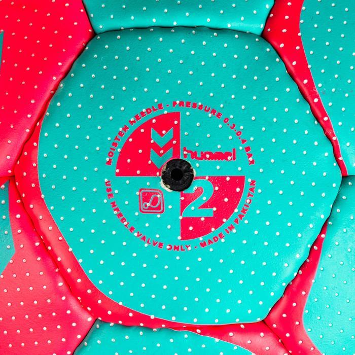 Ballon de handball hummel femme taille 2 bleu turquoise rose
