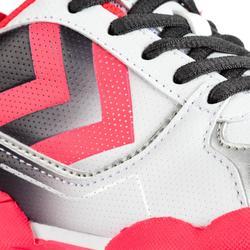 Handbalschoenen voor meisjes Aerotech grijs/roze/wit
