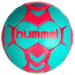 Balón de balonmano mujer talla 2 azul turquesa / rosa
