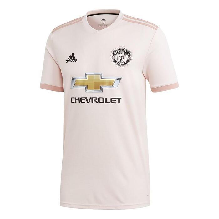 Maillot réplique de football adulte Manchester United extérieur rouge