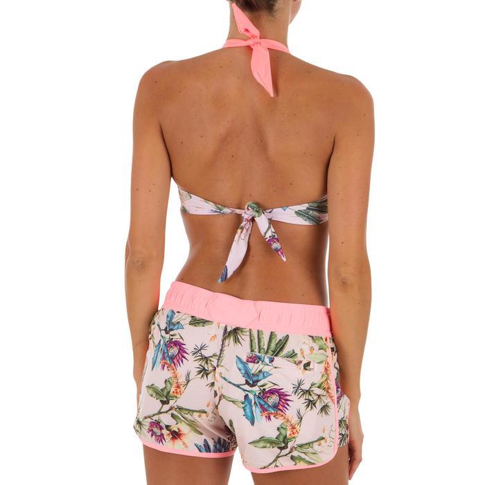 Women's boardshorts with elasticated waistband and drawstring TINI SANTO