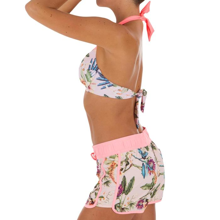 Women's boardshorts with elasticated waistband and drawstring TINI SANTO
