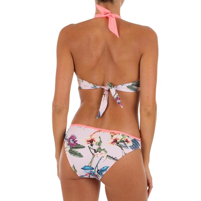 Women's push-up swimsuit top with fixed padded cups ELENA SANTO