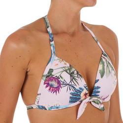 女款固定式三角泳裝上衣MILA SANTO