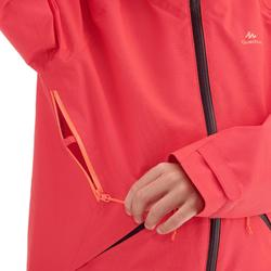 Veste de randonnée enfant MH550 Corail