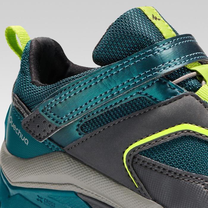 Zapatillas de senderismo niños talla 28-34 impermeables CROSSROCK