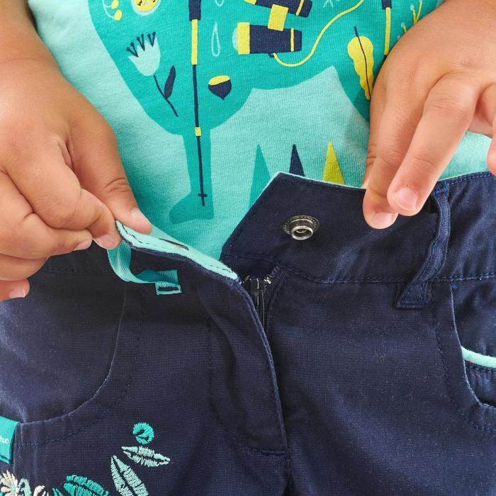 Wandelshort voor kinderen MH500 marineblauw 2 tot 6 jaar
