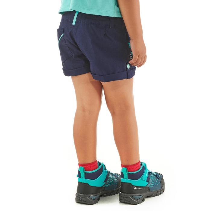 Short de randonnée enfant MH500 bleu marine 2 A 6 ANS