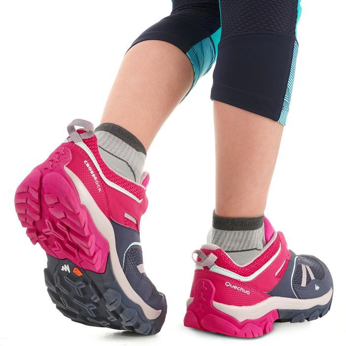 43c94758 Zapatillas de montaña y senderismo niña Crossrock JR Azul/Rosa ...