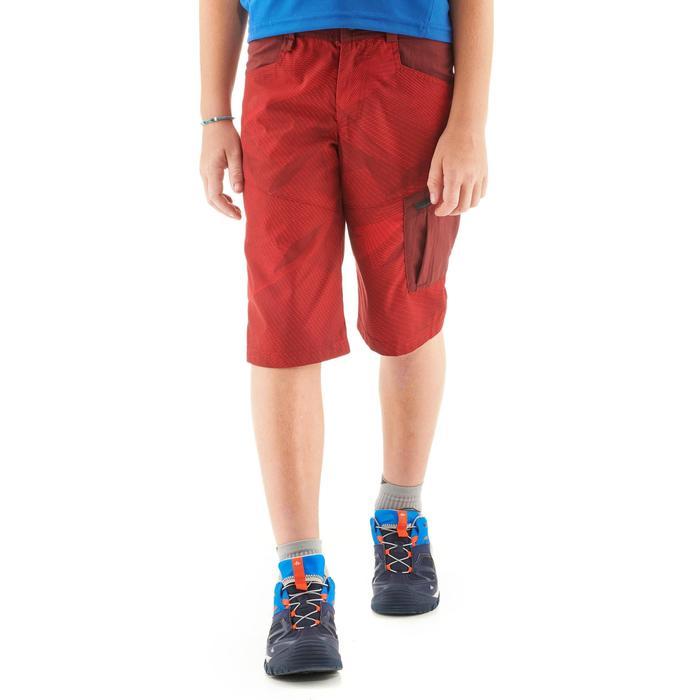 Pantalón corto de senderismo júnior MH500