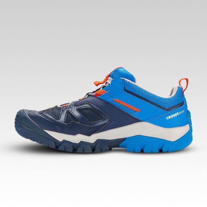 Zapatillas de senderismo en montaña niño Crossrock JR Azul