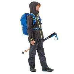 Sur pantalon de randonnée - MH500 gris - enfant