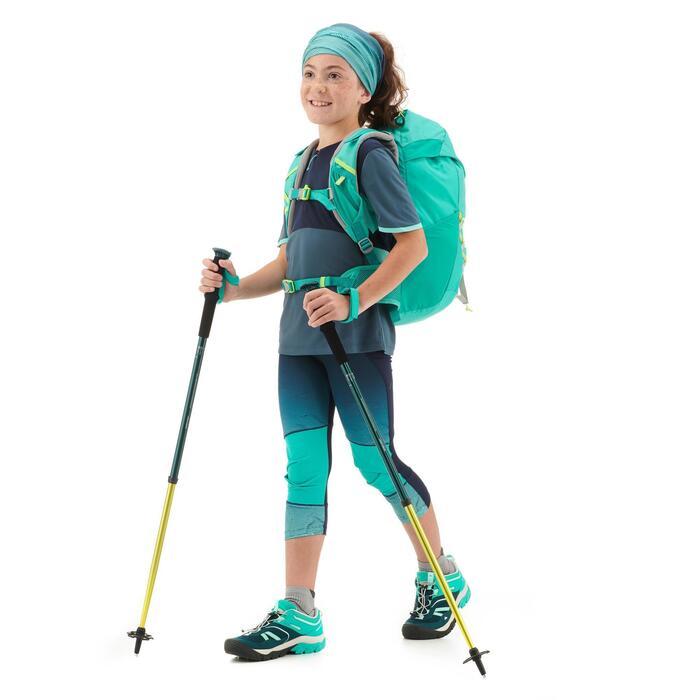 Legging de randonnée - MH500 bleu turquoise - enfant