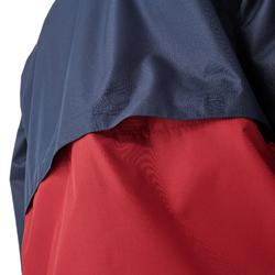 Veste imperméable de randonnée enfant MH 500 navy