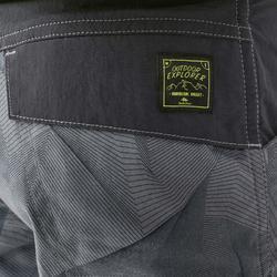 MH500 Celana Pendek Mendaki Anak - Abu-abu