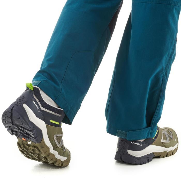 Lage bergwandelschoenen met veters voor jongens Crossrock kaki