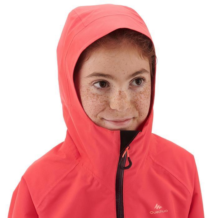 Veste imperméable de randonnée - MH550 corail - enfant