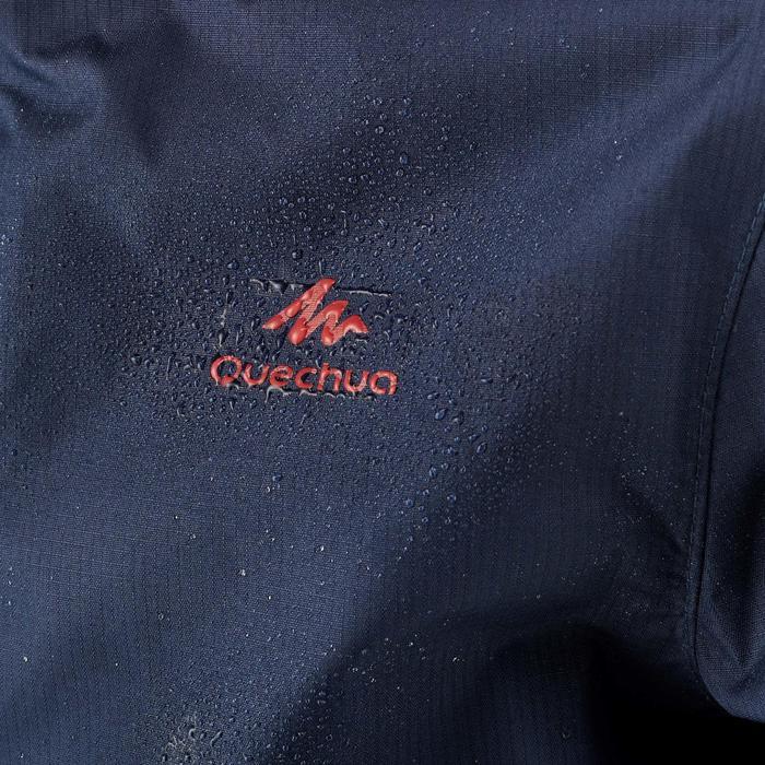 Jacke Wandern MH500 Kinder wasserdicht marineblau