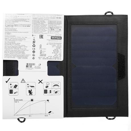 Trek 100 Trekking Solar Panel 10w Forclaz