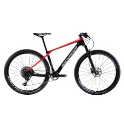 Mountainbike XC 900 29 Zoll MTB Cross Country Carbon rot/schwarz
