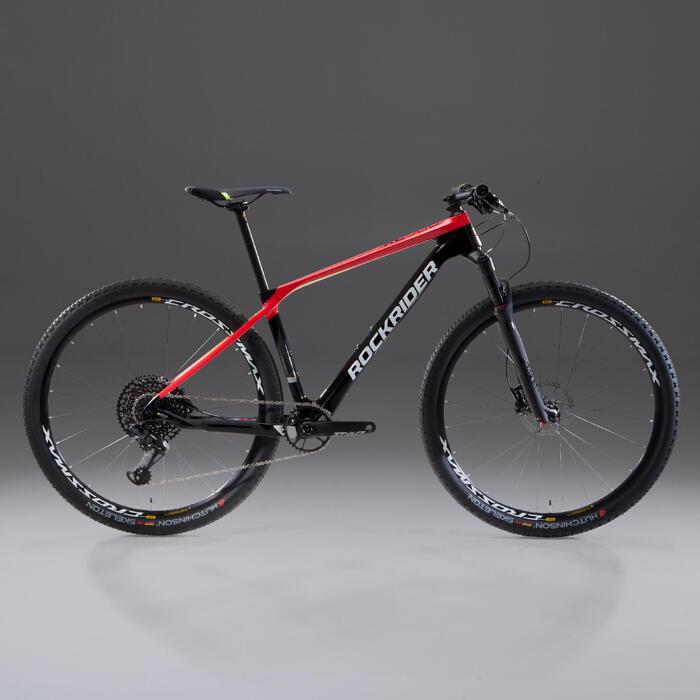 """VTT XC 900 29"""" CARBONE rouge et noir"""