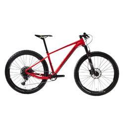 """Bicicleta de Montaña Rockrider XC 500 27,5"""" PLUS 12v Rojo"""