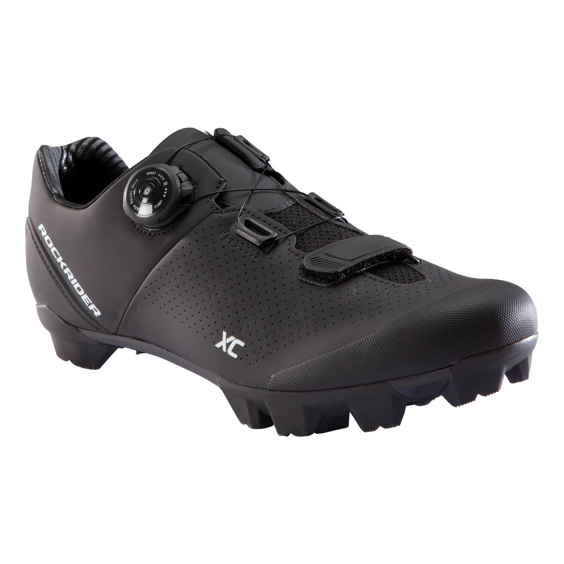 Fahrradschuhe MTB XC 500 neongelb | Schuhe > Sportschuhe > Fahrradschuhe | Rockrider